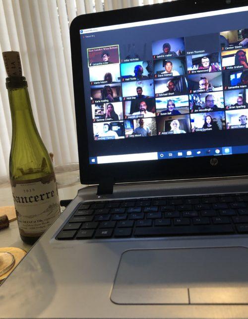 Frontier wine tasting photo NPW 2020